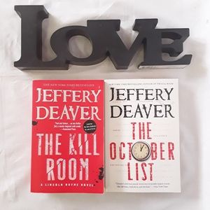 Other - Jeffrey Deaver The October List/The Kill Room